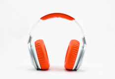 Earphone. Headphones for listening to music Royalty Free Stock Photos