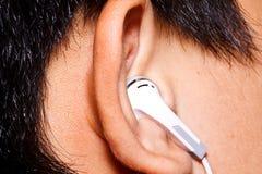 The earphone Stock Image