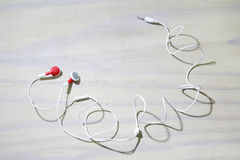 Earphone Royalty Free Stock Photo