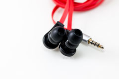 The earphone Stock Image
