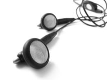 Earphones Royalty Free Stock Photo