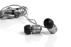 Earphones Royalty Free Stock Images