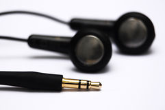 Earphones with jack Stock Photography