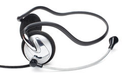 Earphones with microphone Stock Photography