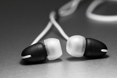 Earphones A Royalty Free Stock Photo