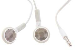 Earphones With Jack Royalty Free Stock Image