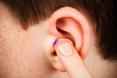 earplug Стоковые Фотографии RF