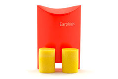 Earplugs Royalty Free Stock Image