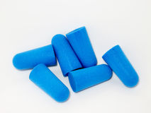 Earplugs. For the protection of the hearing Stock Photography