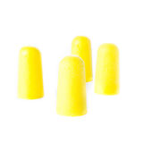 Earplugs ear noise control protection from  noisy neighborhoods Royalty Free Stock Photo