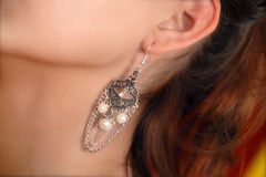 Free Earring Royalty Free Stock Photo - 9728875