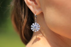 Earring Royalty Free Stock Images