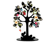 Earring tree Royalty Free Stock Photo