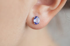 Earring Royalty Free Stock Photography