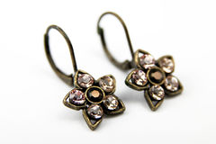 Earrings Royalty Free Stock Photography