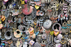 Earrings stock image