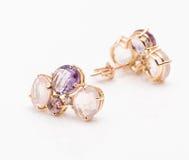 earrings Fotografia Stock
