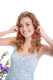 Earrings Royalty Free Stock Images