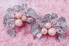earrings Image libre de droits