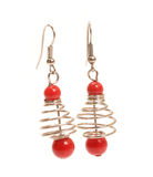 Earrings Stock Images