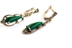 Earrings stock photography