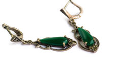 Earrings royalty free stock photo