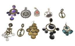 Earrings women Stock Photography