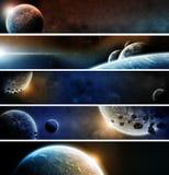 行星Eart默示录装箱 免版税图库摄影
