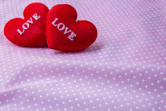 Eart as a symbol of love Stock Images