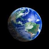 Earth. Globe (America), high resolution image Stock Photo