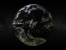 Earth. Render the earths against space vector illustration