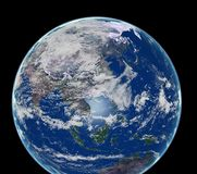 Earth. 3D photorealistic earth generated by me stock illustration