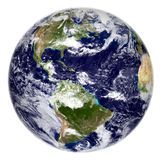 The Earth. 3d render of the planet Earth Stock Image