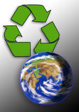 Earth. Ecology, ecosystem, environment, global, globalization, green, healthy Royalty Free Stock Photo