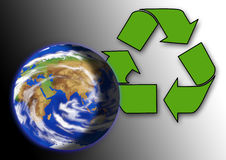 Earth. Ecology, ecosystem, environment, global, globalization, green, healthy Stock Photography