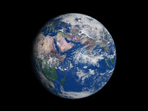 Earth. Our own planet Earth - dark space Stock Image
