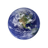 Earth. North America And Pacific royalty free illustration