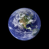Earth. North America And Pacific Stock Illustration