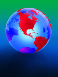Earth 3d Stock Image