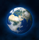 Earth. A rendering of the Earth from a Satellite view Stock Photography