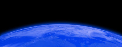Earth. Space view of the earth Royalty Free Stock Image