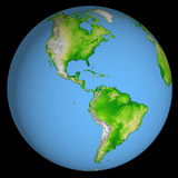 Earth. 3D Textured Graphic of Earth royalty free illustration