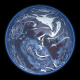 Earth. Computer Graphics - Earth Like Planet Royalty Free Stock Images