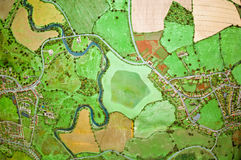 The earth from above. A picture which gives the impression of having been taken from great height stock photos