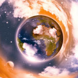 Earth Abstract Background Stock Photos