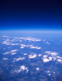 Earth aerial view. Stock Images