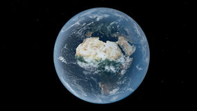 Earth africa Stock Photo
