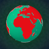 Earth Africa Europe View Stock Photography