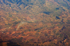 Earth from the air Stock Image