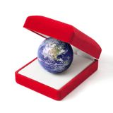 Earth as a gift Royalty Free Stock Photo